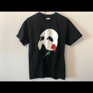 Vintage Phantom Of The Opera Mask 80s T-Shirt Sz M